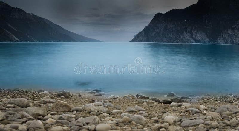 озеро garda стоковые изображения rf