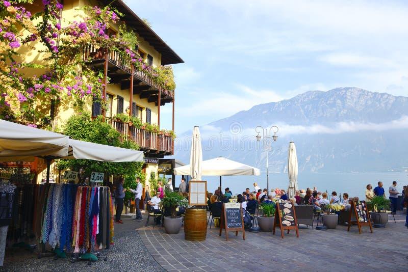 Озеро Garda стоковые фотографии rf