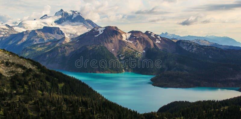 Озеро Garibaldi стоковые изображения rf