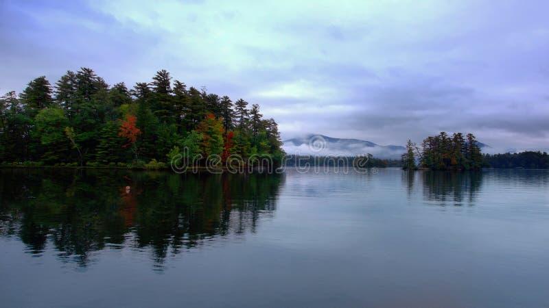 озеро george ny стоковая фотография