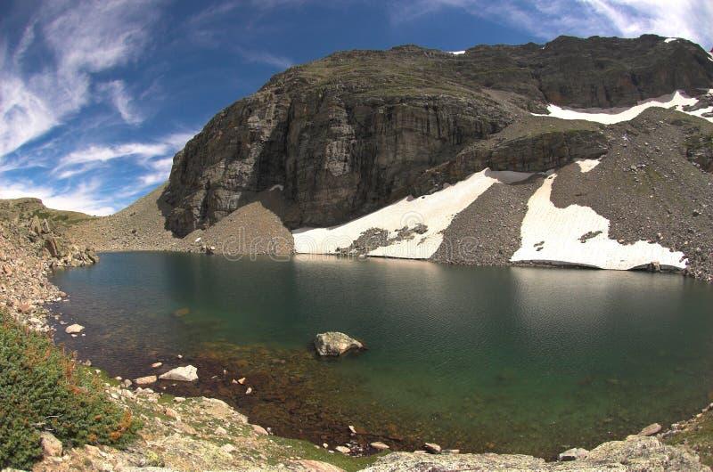 озеро gibralter стоковая фотография