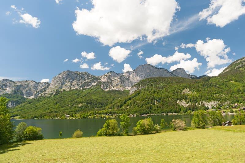 Озеро Grundlsee, Австрия стоковые изображения rf