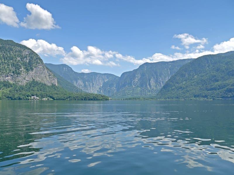 Озеро Hallstatt стоковое фото rf