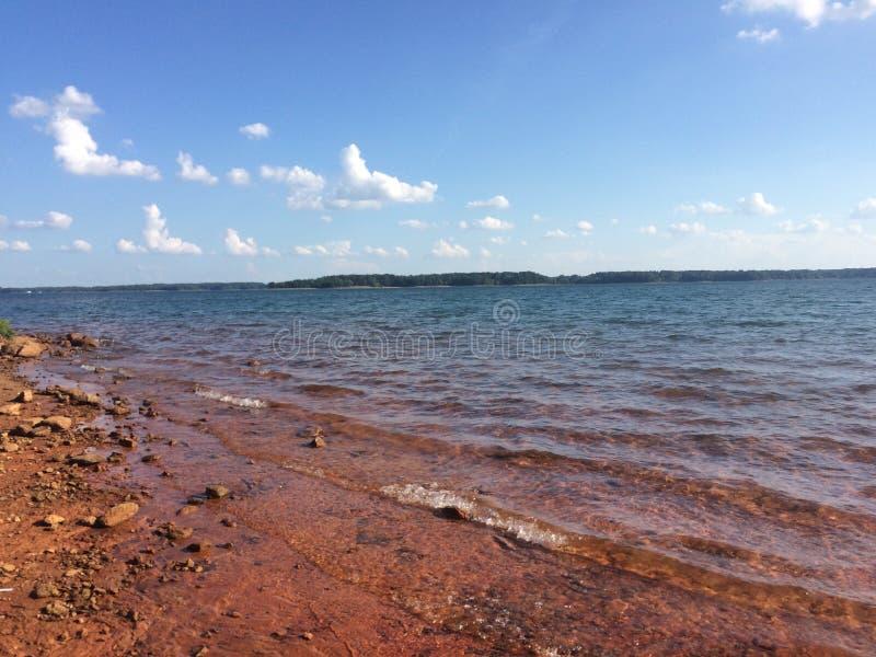 Озеро Hartwell стоковые фото