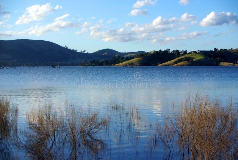 озеро homepoint eildon стоковое изображение