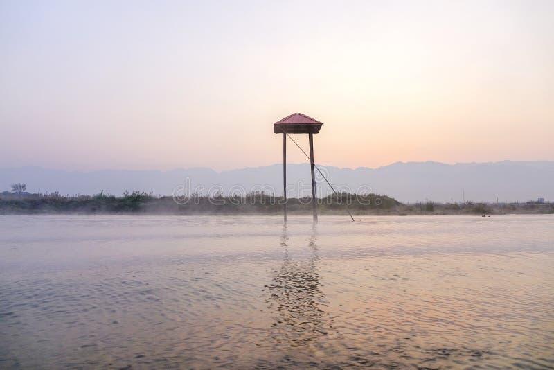Озеро Inle, Шань, Myanmare стоковые изображения