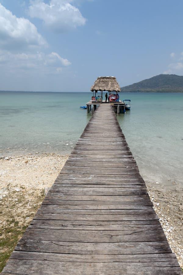 озеро itza Гватемалы peten стоковая фотография