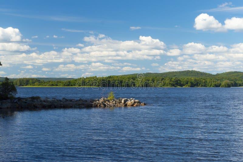 Озеро Ivo внутри norten skane стоковые изображения rf