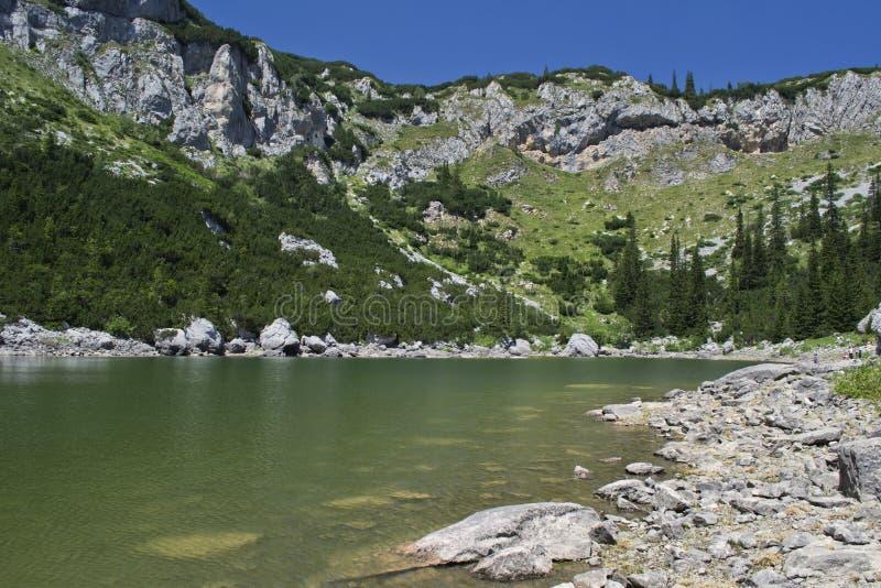 Озеро Jablan стоковые изображения rf