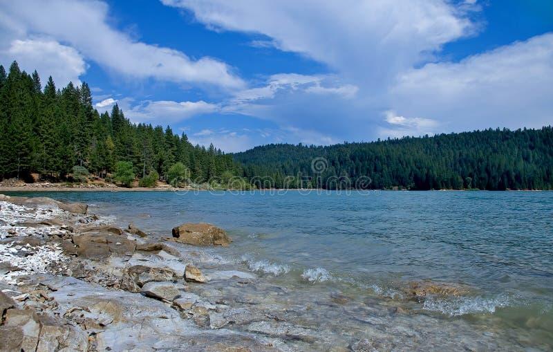озеро jenkinson california стоковые изображения rf