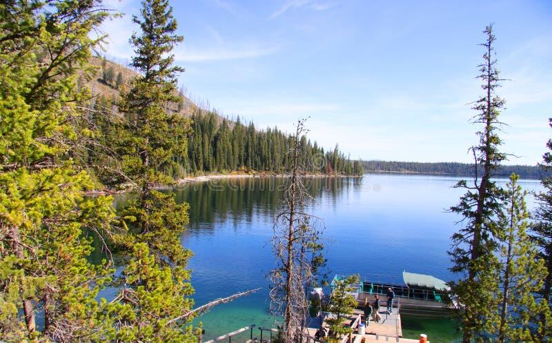 Озеро Josphine стоковое фото rf
