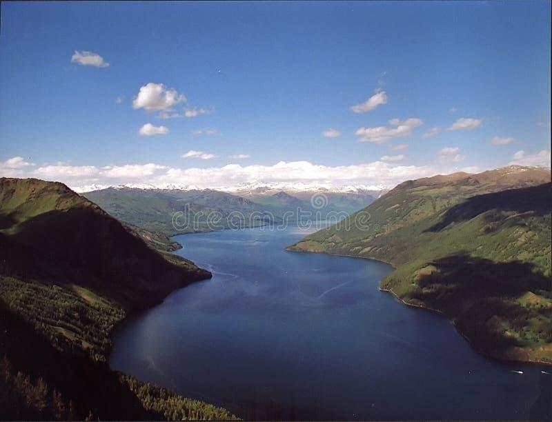 озеро kanas стоковая фотография