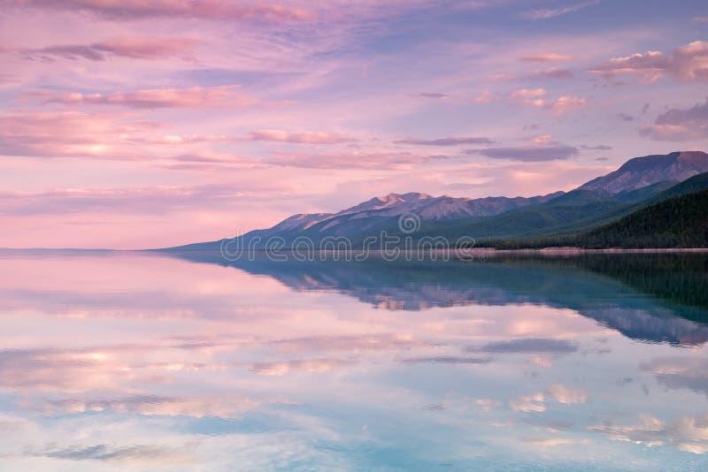 Озеро Khovsgol Khovsgol Dalai, северная Монголия стоковые изображения