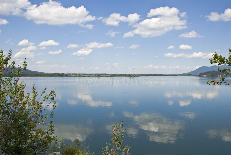 озеро kochel стоковое изображение