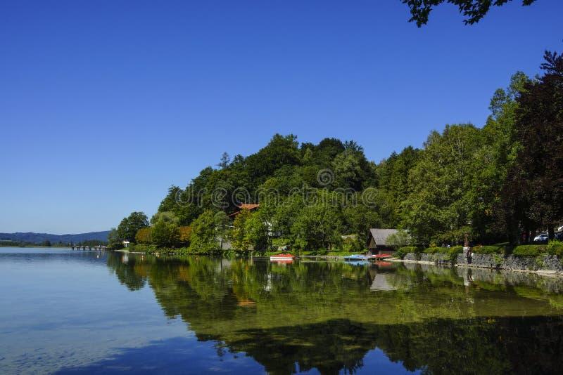 Озеро Kochelsee, Бавария стоковые фото
