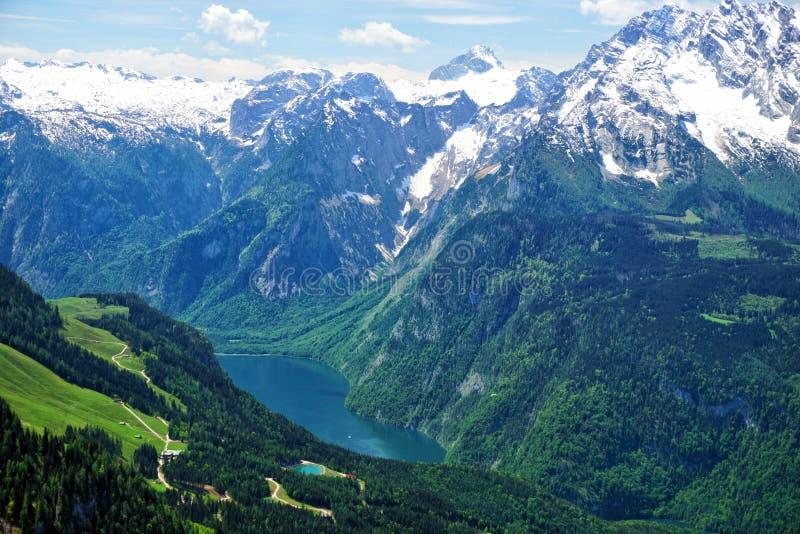 Озеро Konigssee, Германия стоковые фотографии rf