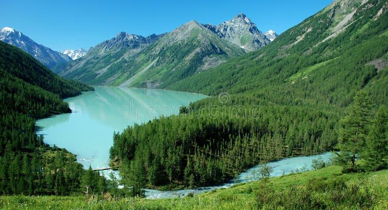 озеро kucherlinskoe altai 2 стоковые фотографии rf