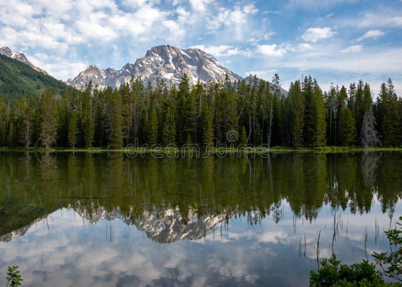 озеро leigh стоковая фотография