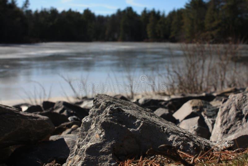 Озеро Leominster стоковая фотография rf