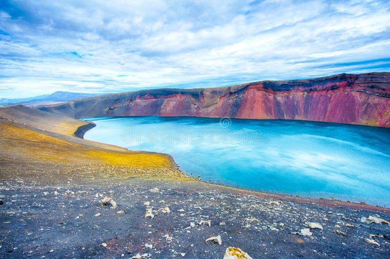Озеро Ljotipollur стоковые фото
