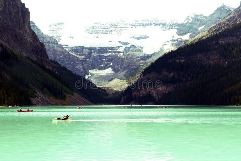 озеро louise Канады стоковое фото rf