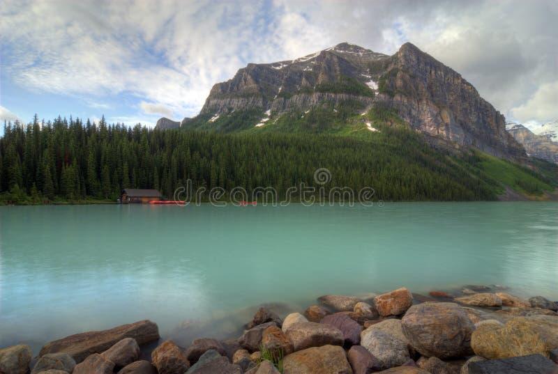 озеро louise стоковое фото rf