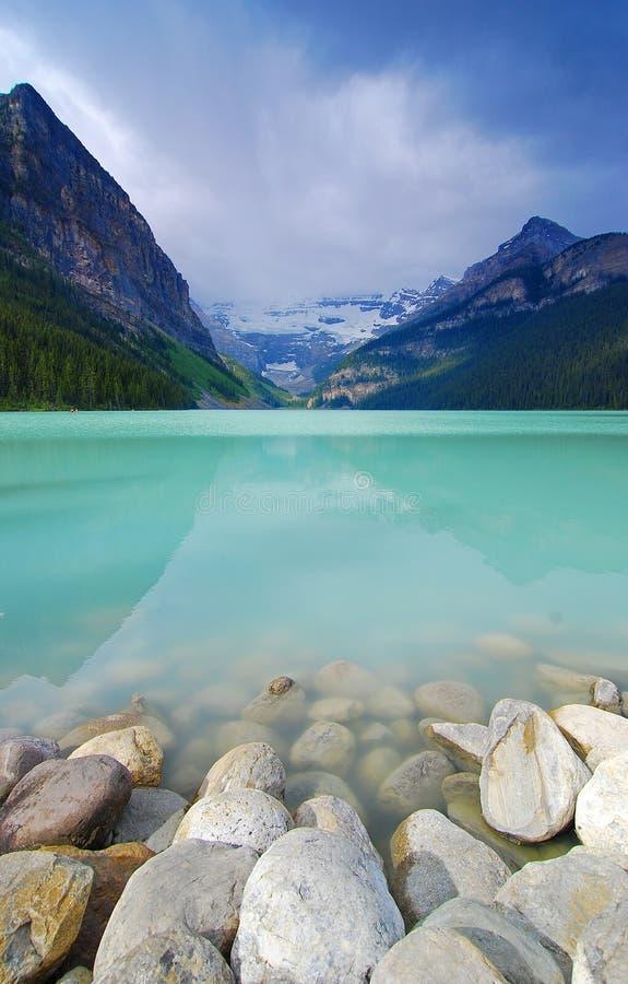 озеро louise стоковые изображения rf
