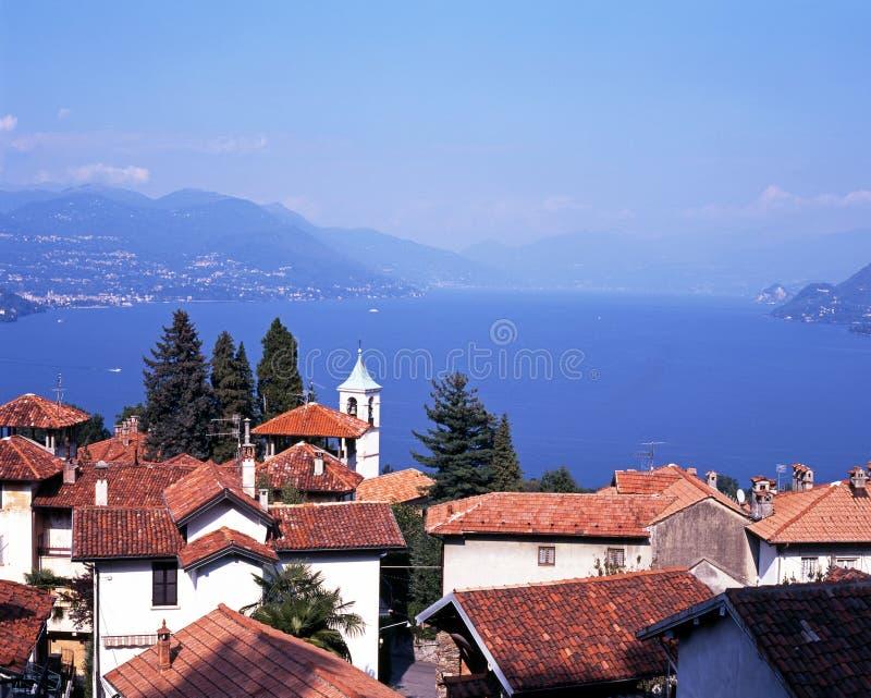 Озеро Maggiore, Stresa, Италия. стоковые изображения