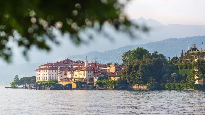 Озеро Maggiore Stresa Италия стоковое фото rf