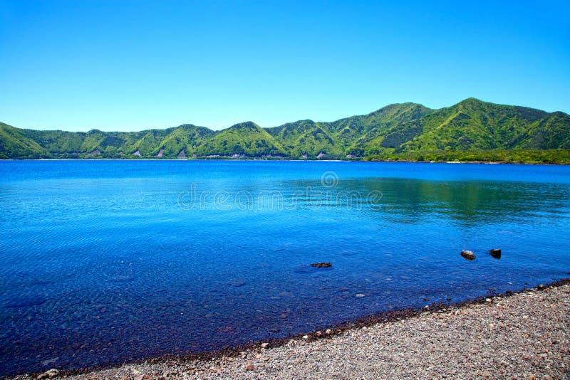 Озеро Motosu в Японии стоковые изображения