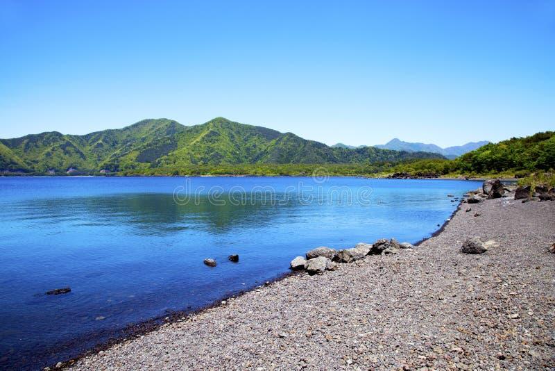 Озеро Motosu в Японии стоковые фото