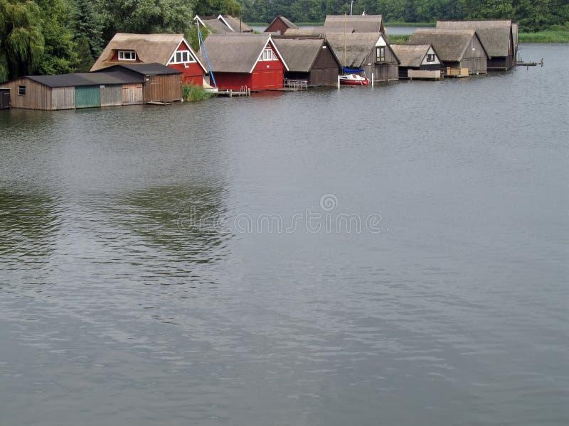 Озеро Mueritz стоковое фото rf