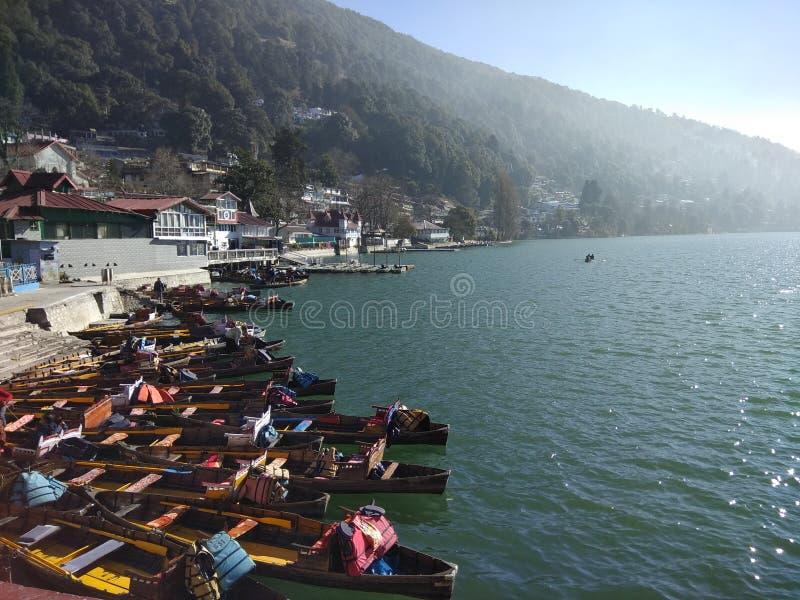 Озеро Naina стоковые изображения rf