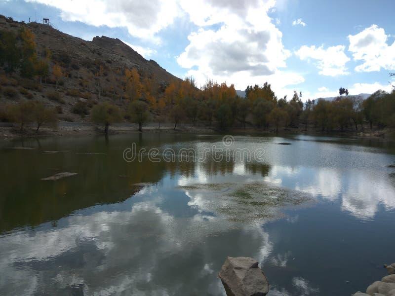 Озеро Nako стоковое изображение rf