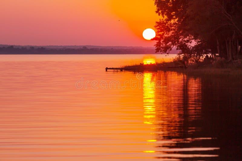Озеро Peten стоковое фото