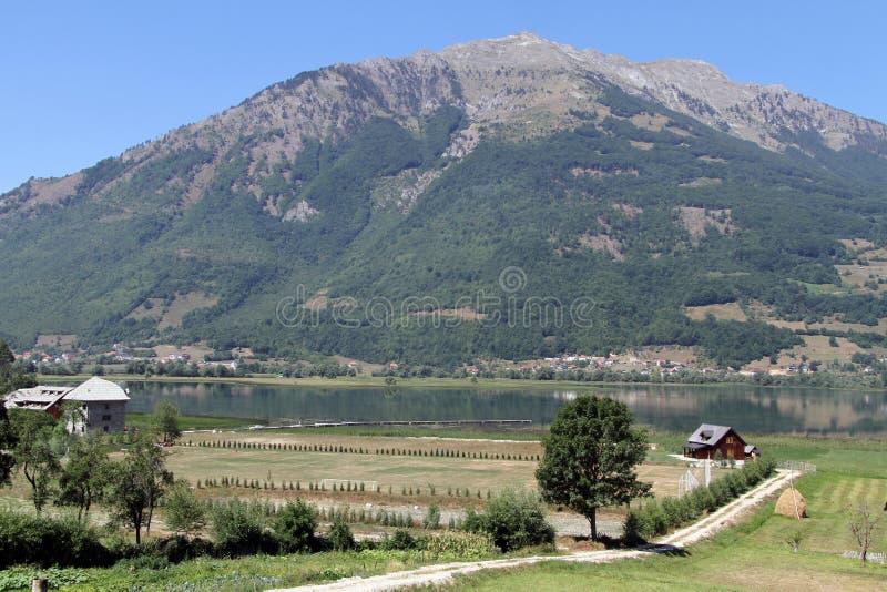 Озеро Plav стоковая фотография