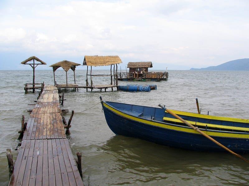 Озеро Prespa, македония стоковая фотография rf