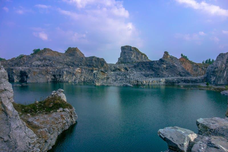 Озеро PuGong стоковое изображение rf