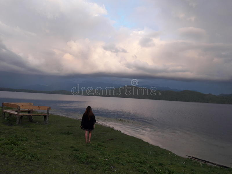 Озеро RARA стоковые изображения
