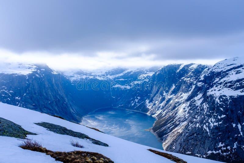 Озеро Ringedalsvatnet стоковое фото rf