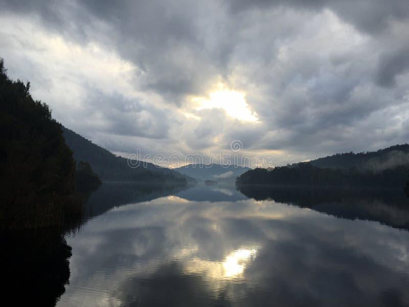 Озеро Rosebery, Тасмания стоковые фото