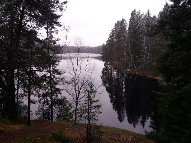 Озеро Ruuhijarvi стоковое изображение rf