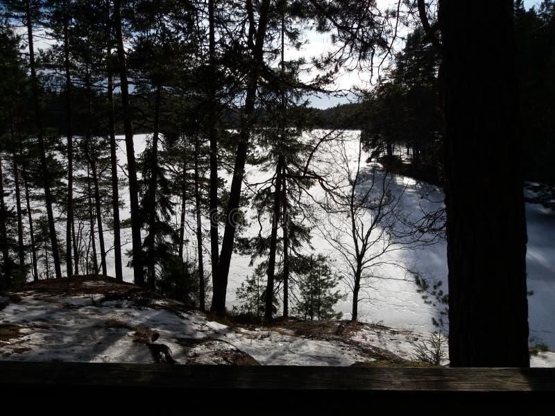 Озеро Ruuhijarvi стоковая фотография rf