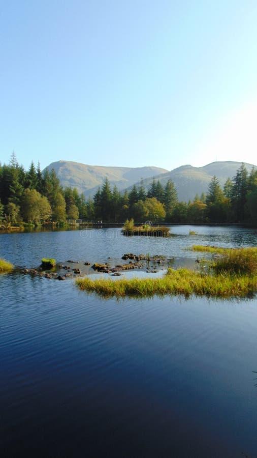 Озеро ` s Шотландии стоковое изображение