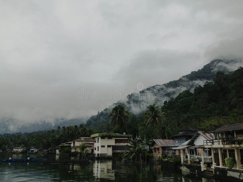 Озеро Singkarak стоковые изображения rf