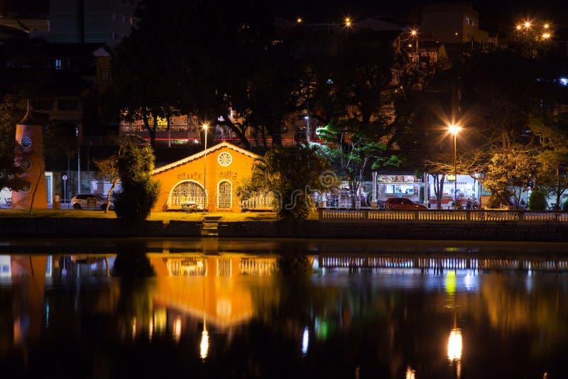 Озеро Taboao в Braganca Paulista стоковая фотография