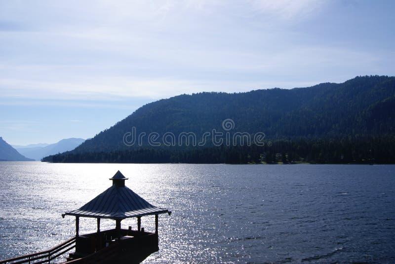Озеро Teletskoe стоковое фото