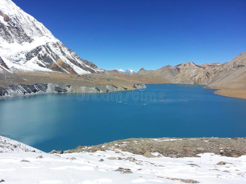 Озеро Tilicho стоковое изображение