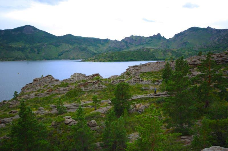 Озеро Toraygyr стоковое изображение rf