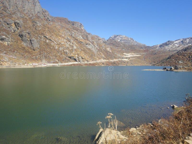 Озеро Tsomgo стоковая фотография